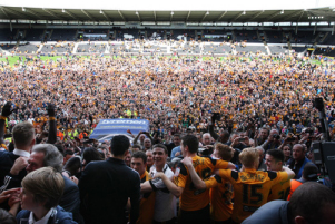 PSC DUO PROMOTED TO THE PREMIER LEAGUE WITH HULL CITY